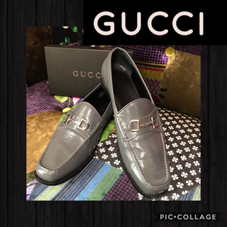 グッチ(Gucci)の正規品☆*。GUCCIグッチ☆*メンズ☆*ホースビットローファー☆*25cm(ドレス/ビジネス)