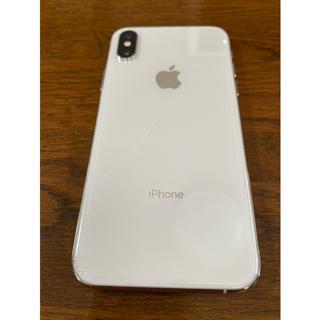 iPhone - iPhone Xs Silver 64 GB SIMフリー