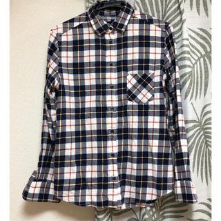 UNIQLO - 美品♡ユニクロ チェックシャツ メンズL ネルシャツ