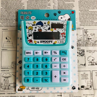 SNOOPY - スヌーピー   電卓 ソーラー電池
