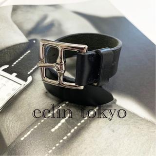 エルメス(Hermes)の新品同様 エルメス エトリビエール バックル  ブレスレット 黒 E1301(バングル/リストバンド)