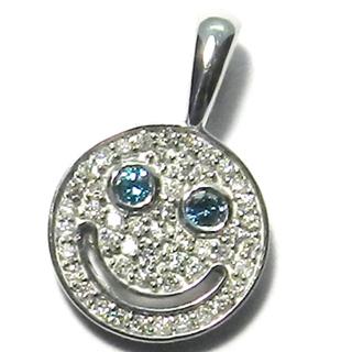 アイファニー(EYEFUNNY)のEYEFUNNY アイファニー  ネックレス スマイル ダイヤ k18(ネックレス)