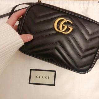 Gucci - ✈♪Gucci グッチ マーモント スモールショルダーバック