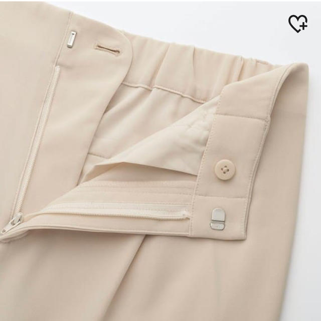 UNIQLO(ユニクロ)の今期 人気 完売 ブラウンワイドパンツ レディースのパンツ(カジュアルパンツ)の商品写真