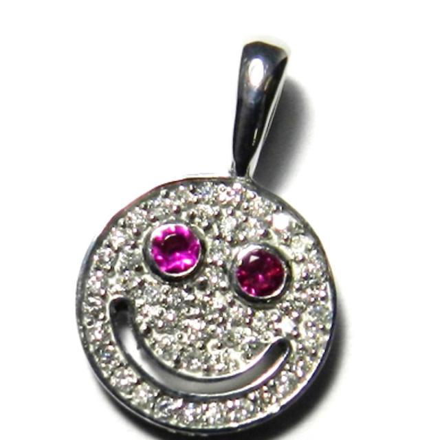 EYEFUNNY(アイファニー)のEYEFUNNY アイファニー  ネックレス スマイル ダイヤ k18 メンズのアクセサリー(ネックレス)の商品写真