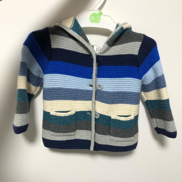babyGAP(ベビーギャップ)のbaby gap カーディガン キッズ/ベビー/マタニティのベビー服(~85cm)(カーディガン/ボレロ)の商品写真