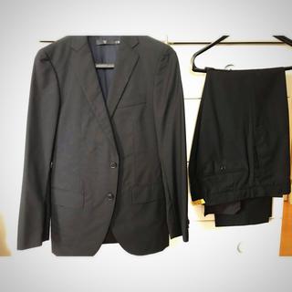 ユニクロ(UNIQLO)のユニクロ +J メンズスーツ Sサイズ ブラック セットアップ(セットアップ)