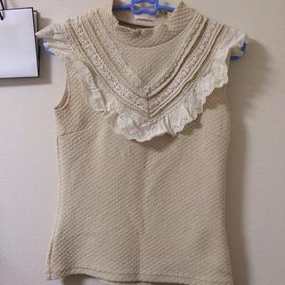 リズリサ(LIZ LISA)のLIZLISA ハイネックトップス(Tシャツ/カットソー(半袖/袖なし))