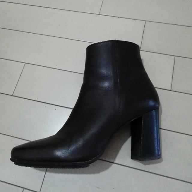 DIANA(ダイアナ)のDIANA 本革 ショートブーツ レディースの靴/シューズ(ブーツ)の商品写真