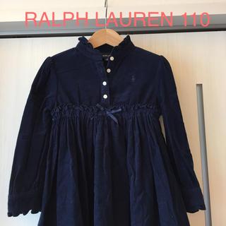 ラルフローレン☆ コーデュロイワンピース 110