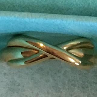 ティファニー(Tiffany & Co.)の正規 ティファニー インフィニティリング  K18 YG(リング(指輪))