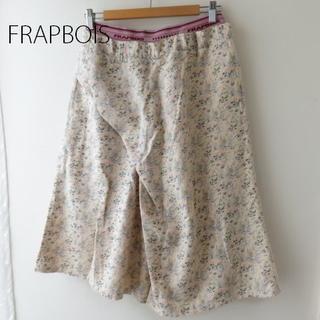 フラボア(FRAPBOIS)のFRAPBOIS フラボア綿麻 ハーフパンツ ウエストゴム(ハーフパンツ)