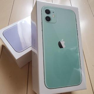 iPhone - 最新 iPhone11 128GB グリーン 国内SIMフリー版 新品未開封品