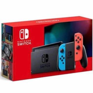Nintendo Switch - 新型 スイッチ ネオンブルー 1台 新品未使用 switch