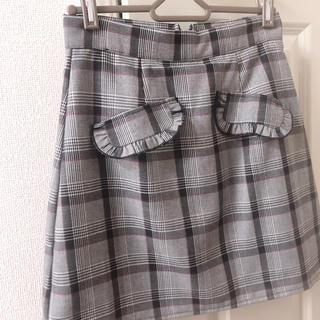 evelyn - evelyn チェック スカート