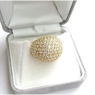 《新品仕上げ》 5.00ct K18 パヴェダイヤリング(リング(指輪))
