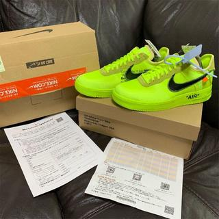 NIKE - OFF-WHITE NIKE AIR FORCE 1 LOW 27.5cm