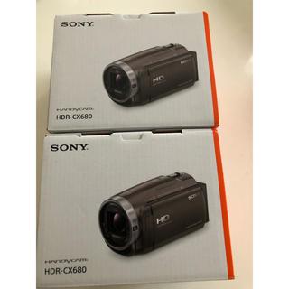 SONY - 【最終売り切り】SONYソニーハンディカム HDR-CX680 白 2台セット