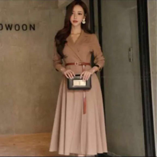 【新品】インポートセレクトワンピース ドレス セレブ 美人百花 紗栄子 レディースのワンピース(ひざ丈ワンピース)の商品写真