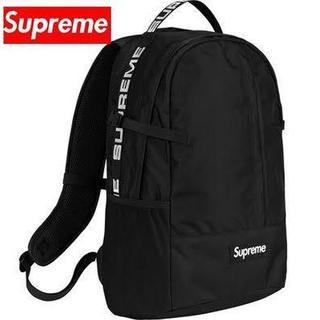Supreme - 新品 18ss Supreme back pack black ブラック