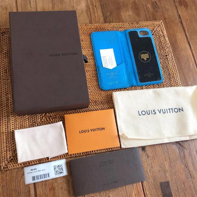 iphone 8 ケース ケイトスペード 、 LOUIS VUITTON - Louis Vuitton  IPHONE 7 & 8 ・フォリオ スマホケースの通販