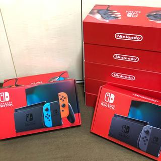 Nintendo Switch - 【新品未使用】Nintendo Switch 本体 新型8台セット