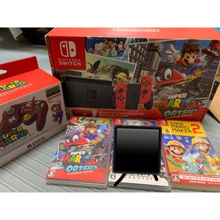Nintendo Switch - 保証あり★ Switch スーパーマリオ オデッセイセットソフト2本