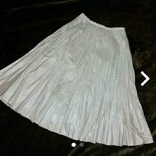 アルファキュービック(ALPHA CUBIC)の【アルファキュービック】プリーツスカート(ロングスカート)