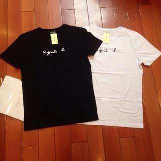 アニエスベー(agnes b.)のagnesb. 定番L黒白2点セットアニエス・ベー半袖Tシャツ(Tシャツ(半袖/袖なし))