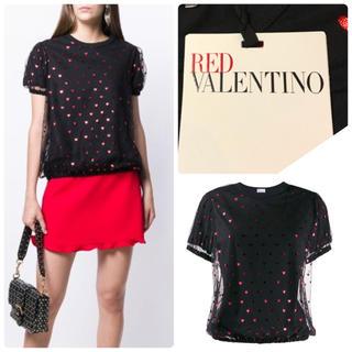 RED VALENTINO - 新品未使用◆4.0万 新作19AW☆RED VALENTINOレイヤードTシャツ