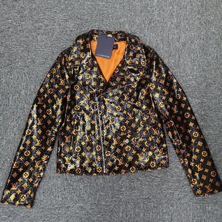 ルイヴィトン(LOUIS VUITTON)のルイヴィトン コート LOUIS VUITTON ジャケット ロゴ 正規品(その他)