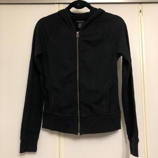 カルバンクライン(Calvin Klein)のカルバンクラインジーンズ    黒  パーカー(パーカー)