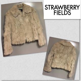 ストロベリーフィールズ(STRAWBERRY-FIELDS)の良品❤︎ストロベリーフィールズ ラビットファー コート❤︎(毛皮/ファーコート)
