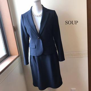 SOUP - SOUP / ワールド フォーマル スーツ ネイビー 9号