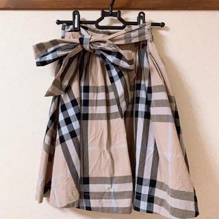 evelyn - evelyn ♡ バックリボンチェックスカート