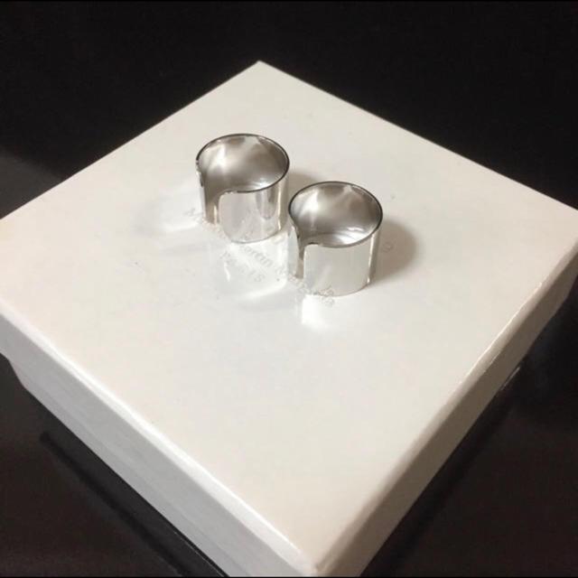 Maison Martin Margiela(マルタンマルジェラ)のシルバー四連リング メンズのアクセサリー(リング(指輪))の商品写真