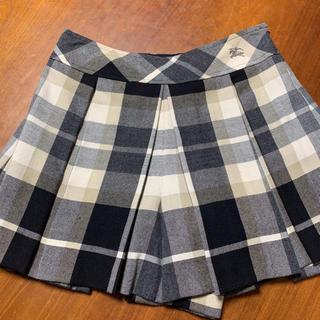 バーバリーブルーレーベル(BURBERRY BLUE LABEL)のキマリー様専用です。BLUE LABELのチェックのキュロットスカート(キュロット)