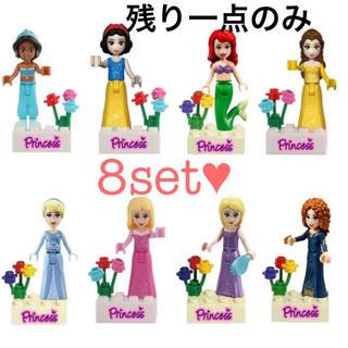 Disney - LEGO プリンセス Princess アリエル シンデレラ ジャスミン 互換