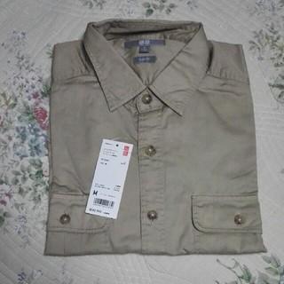 UNIQLO - エクストラファインコットン ワークシャツ