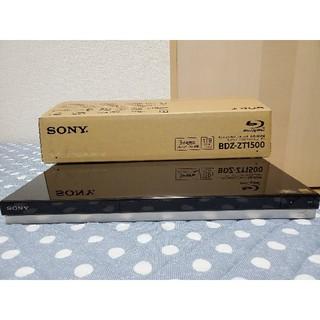 ソニー(SONY)の【新品同様】ソニー ブルーレイレコーダー BDZ-ZT1500(ブルーレイレコーダー)