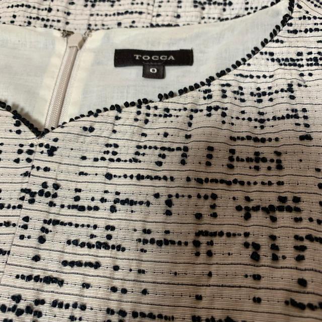 TOCCA(トッカ)のTOCCAトッカ・美品PEBBLYペブリードレス・ワンピース0サイズ レディースのワンピース(ひざ丈ワンピース)の商品写真