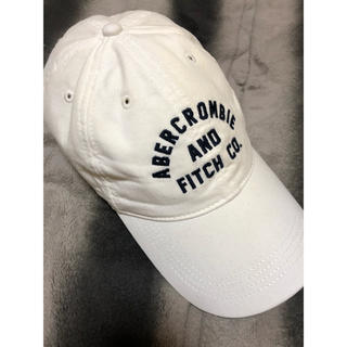 Abercrombie&Fitch - アバクロキャップ ホワイト 【週末限定価格】