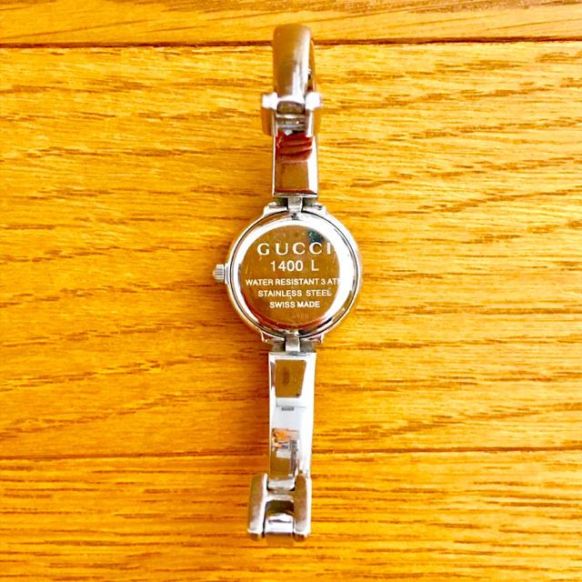 Gucci(グッチ)の【大特価!!】LADIES GUCCI サークル腕時計 1400L ブラック🎀 レディースのファッション小物(腕時計)の商品写真