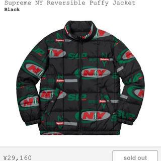 Supreme - 18aw supreme Puffy Jacket Mサイズ 黒