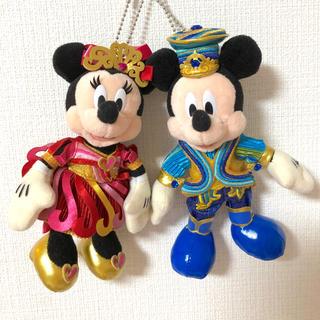 ディズニー(Disney)のディズニー35周年 ぬいぐるみバッジセット(キャラクターグッズ)