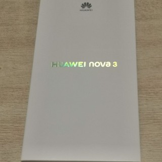 ANDROID - Huawei NOVA3 新品未開封 アイリスパープル simフリー