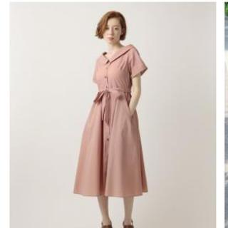 デイシー(deicy)の今期 deicy ストライプシャツドレス ワンピース(ひざ丈ワンピース)