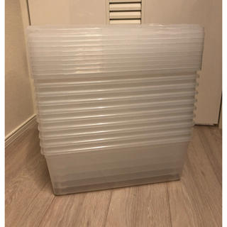コストコ(コストコ)のコストコ 10セット IRIS アイリスオーヤマUSA クリア ボックス BOX(ケース/ボックス)