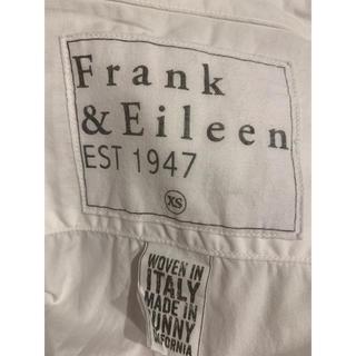 フランクアンドアイリーン(Frank&Eileen)のフランクアンドアイリーン コットン シャツ ホワイト(シャツ/ブラウス(長袖/七分))