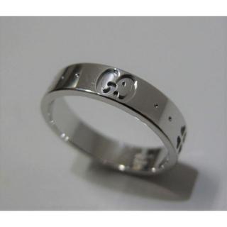 グッチ(Gucci)のグッチ アイコン K18WGリング 研磨仕上(リング(指輪))